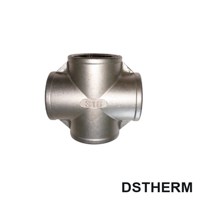 Stainless Steel Pipe Fitting 4-Way Cross
