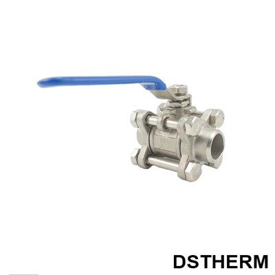 Stainless Steel Thee Pieces Ball Valve