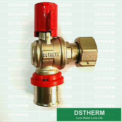 Brass Water Meter Check Valve Lock Valve DS02